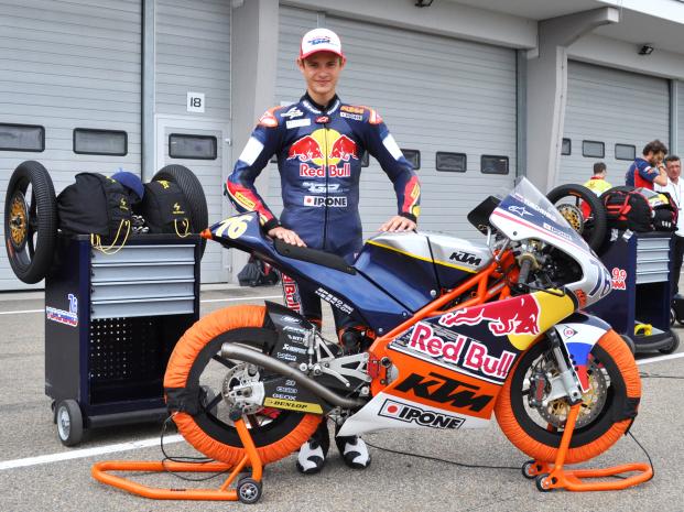 4 позиция на старте для Юрченко в MotoGP Red Bull Rookies Cup и поддержка Кармело Эспелеты